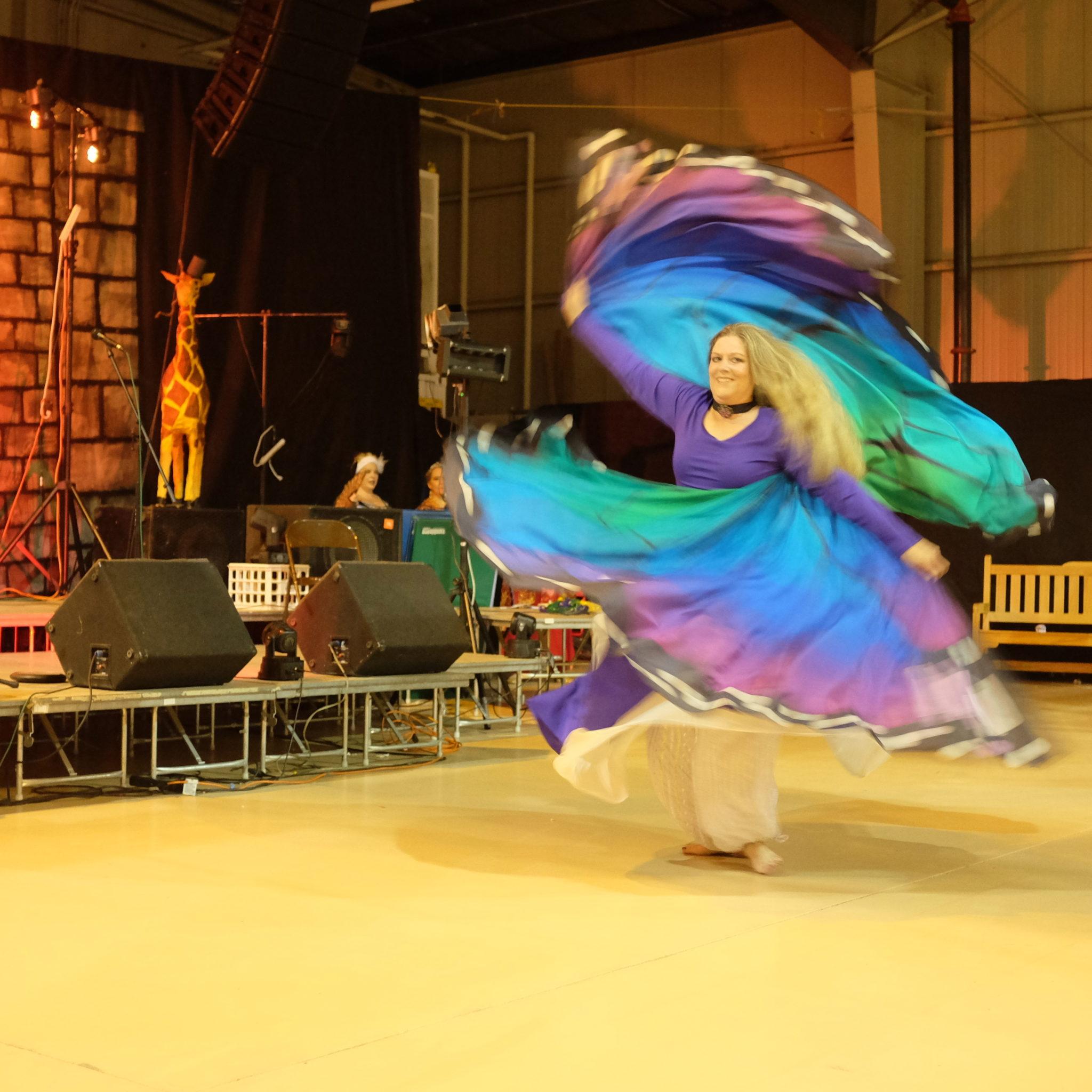 Persian Minature Dance