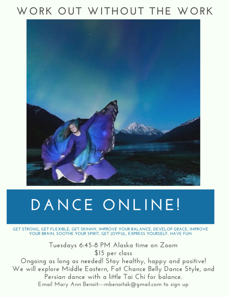 Dance Online with Mary Ann Benoit